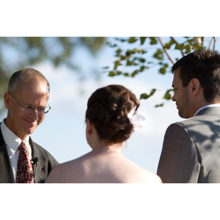 Embracing Ceremony - El Prado NM Wedding Officiant / Clergy Photo 9