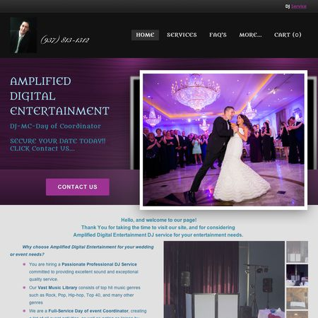 Amplified Digital Entertainment - Dayton OH Wedding Disc Jockey Photo 1