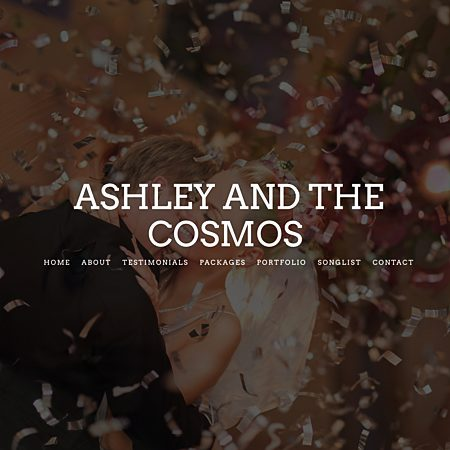 Ashley Wilcox and The Cosmos - Indianapolis IN Wedding Reception Musician Photo 1