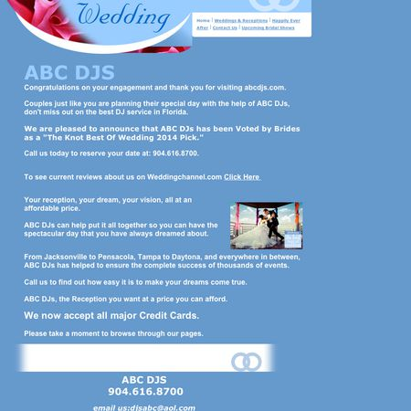 ABC DJs - Saint Augustine FL Wedding Disc Jockey Photo 1