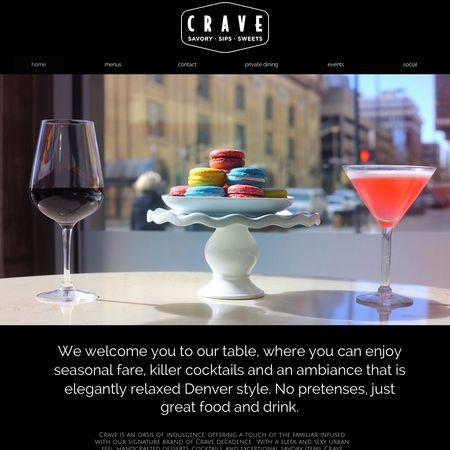 Crave Dessert Bar Lounge Denver Co Wedding Cake Designer
