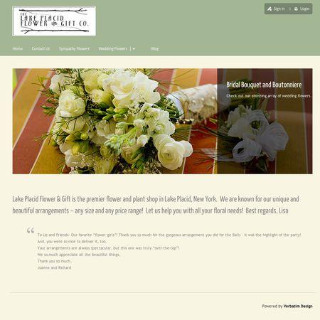 Lake Placid Flower & Gift Company | Lake Placid, NY Wedding Florist