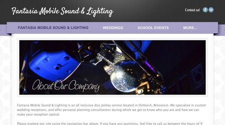 Fantasia Mobile Sound & Lighting