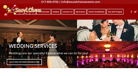 Sound Choice Events DJ, Photo Booth, & Uplights