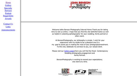 John Benson Studio of Photography