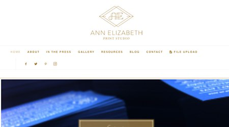 Ann Elizabeth Custom Invitations