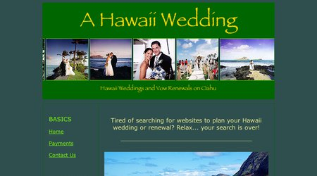 A Hawaii Wedding - Hawaii Beach Weddings