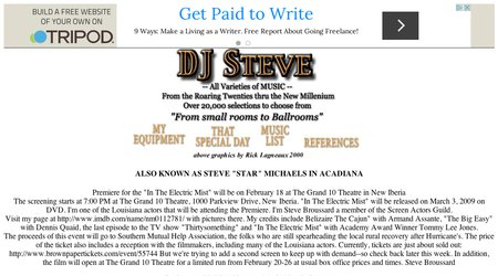 DJ Steve Disc Jockeys for Southern Louisiana