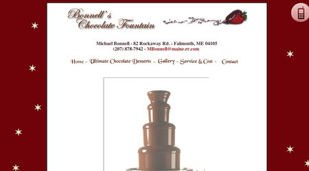 Bonnells Chocolate Fountain