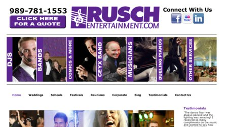 Rusch Entertainment and CEYX