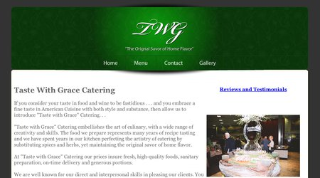 Taste With Grace Catering