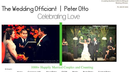 The Wedding Officiant - Peter Otto