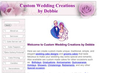 Custom Wedding Creations by Debbie
