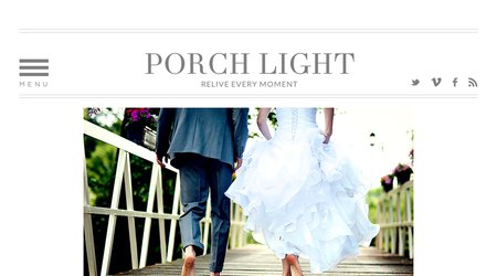Porch Light Wedding Videography