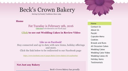 Beck's Crown Bakery