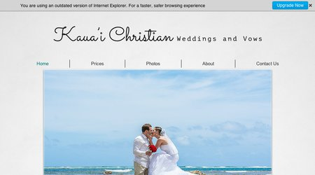 Kauai Christian Wedding & Vow Renewals