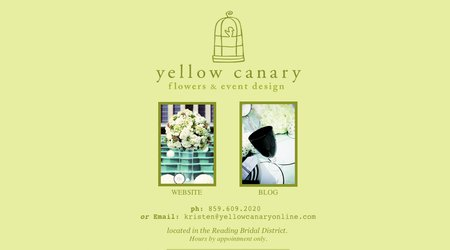 Yellow Canary Flowers & Event Design