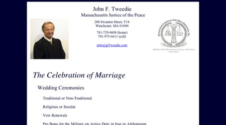 John F. Tweedie - Massachusetts Justice of the Peace