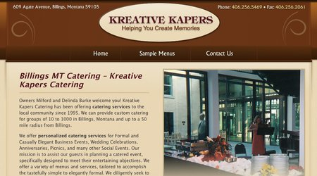 Kreative Kapers Catering