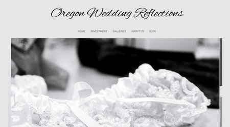 Oregon Wedding Reflections Photography