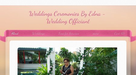 Weddings Ceremonies By Edna