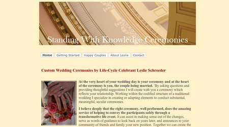 Standing With Knowledge Ceremonies