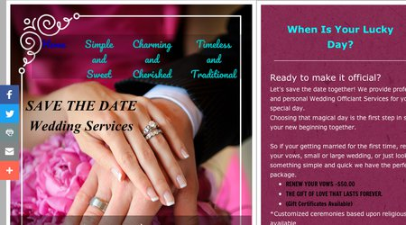 Save the Date Wedding services