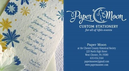 Paper Moon Custom Stationery