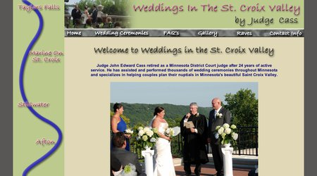 Weddings in the St. Croix Valley, by Judge Cass