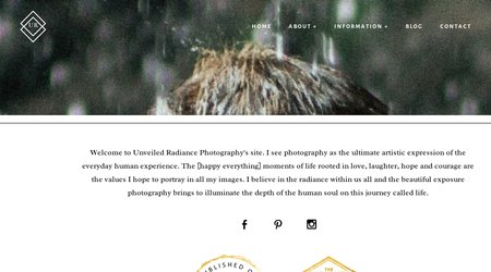 Unveiled Radiance Photography