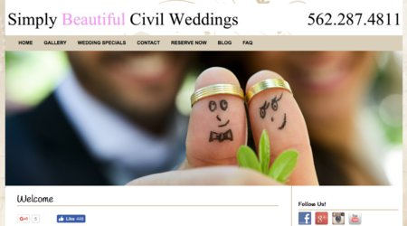 Simply Beautiful Civil Weddings