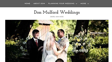Don Mulford Weddings