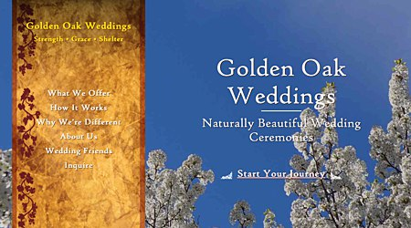 Golden Oak Weddings: Custom Ceremony Officiation