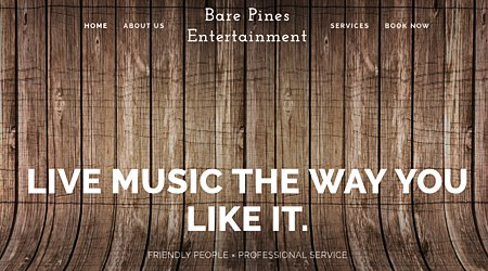 Bare Pines Entertainment