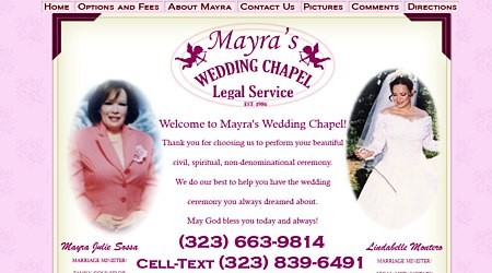 Mayra's Wedding Chapel & Legal Service