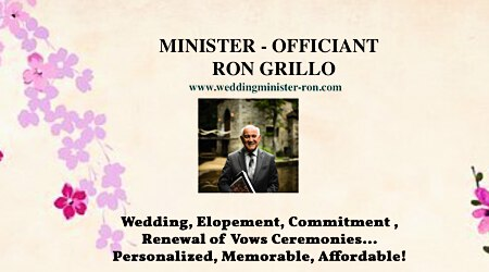 Wedding Minister - Ron Grillo