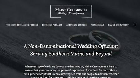 Maine Ceremonies