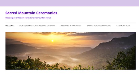 Sacred Mountain Ceremonies | Interfaith Weddings