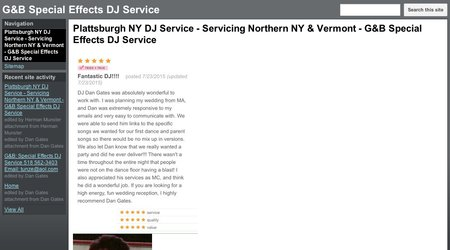 G&B: Special Effects DJ Service