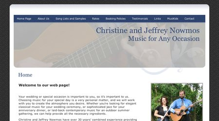 Christine and Jeff Nowmos - Music for Any Occasion