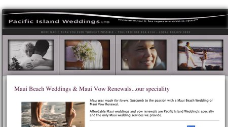 Pacific Island Weddings