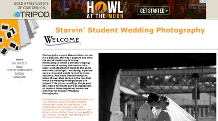Starvin' Student Wedding Photography