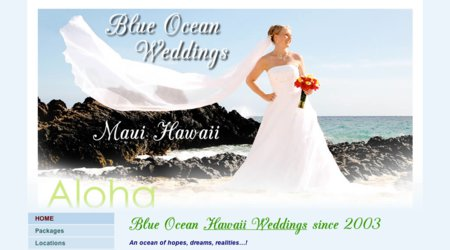 Blue Ocean Weddings