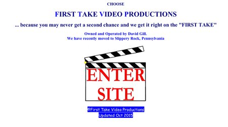 First Take Video Productions