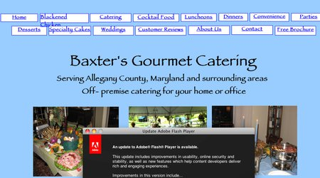 Baxter's Gourmet Catering