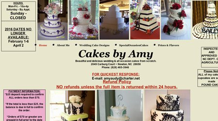 Cakes By Amy