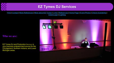 EZ Tymes DJ and Production Services