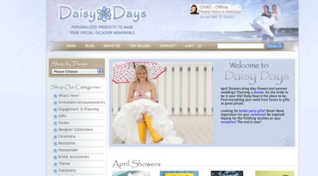 Daisy Days Wedding Accessories, Favors & Gifts
