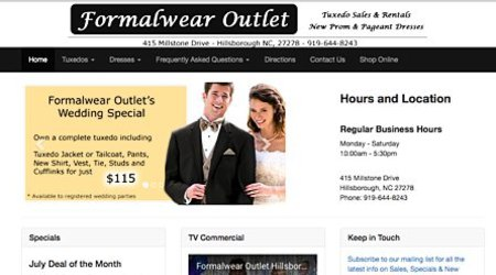 Formalwear Outlet