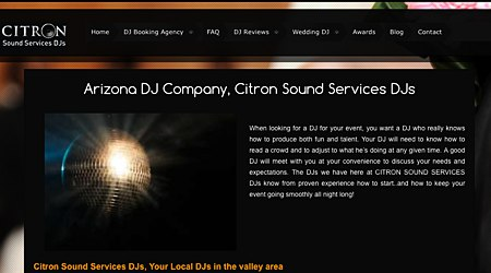 Citron Sound Services DJs and Musicians